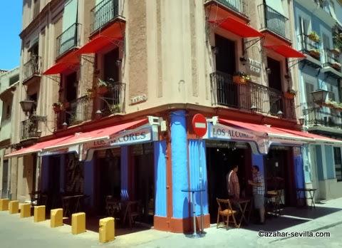 Fachada restaurante Los Alcores.