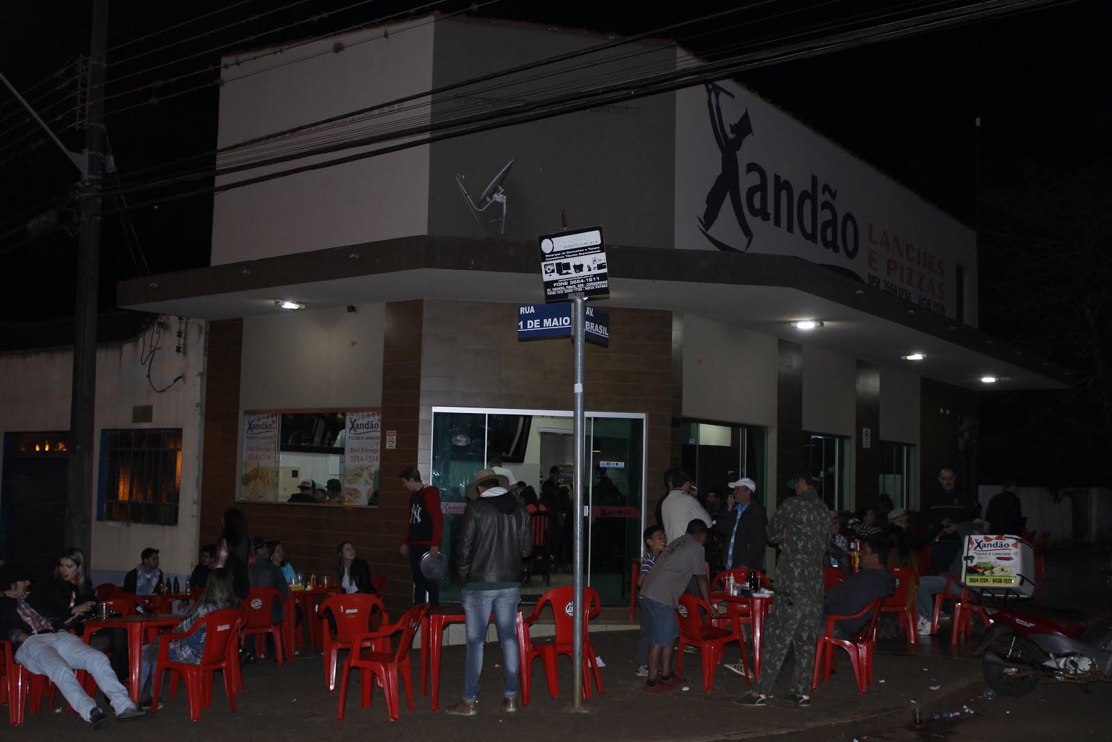 XANDÃO LANCHES E PIZZAS..