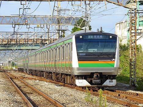 高崎線 普通 新前橋行き E233系