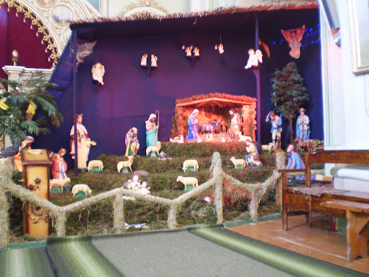 Внутрі церкви також буде Різдвяний Вертеп