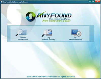 Recover Deleted Photos with AnyFound Photo Recovery