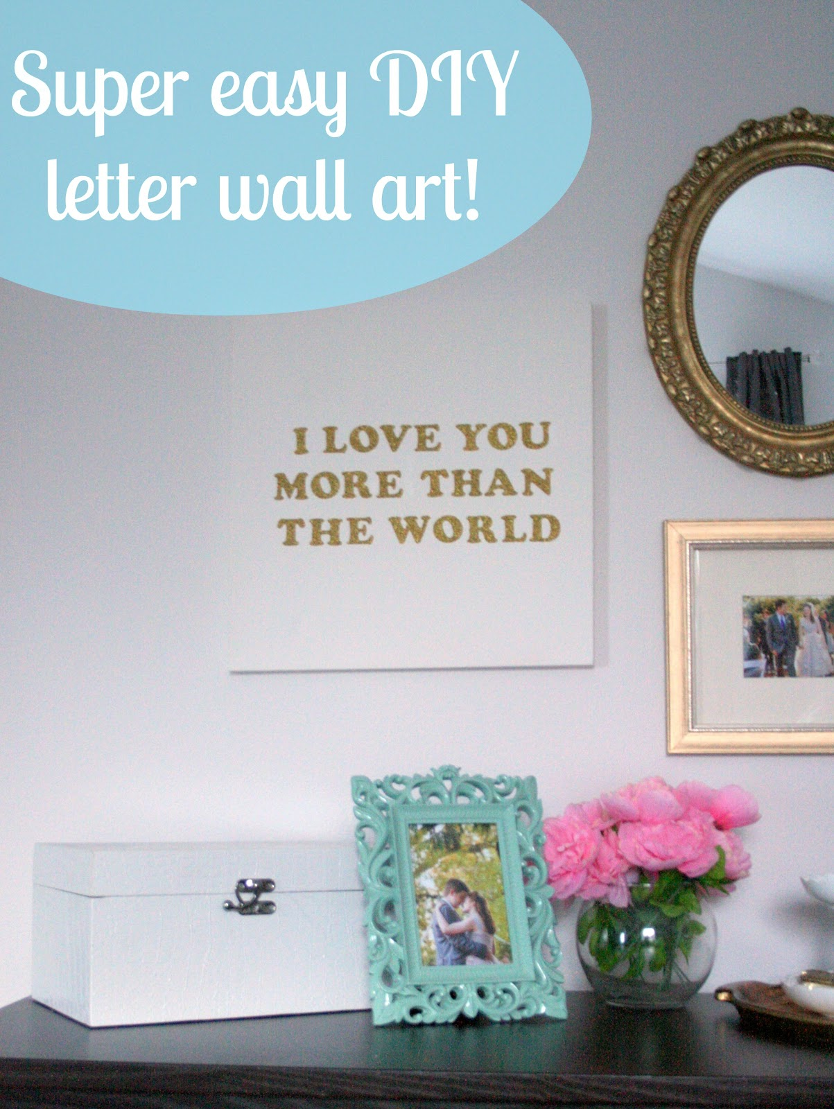 Adventures in Dressmaking: Easiest DIY canvas wall art... super ...