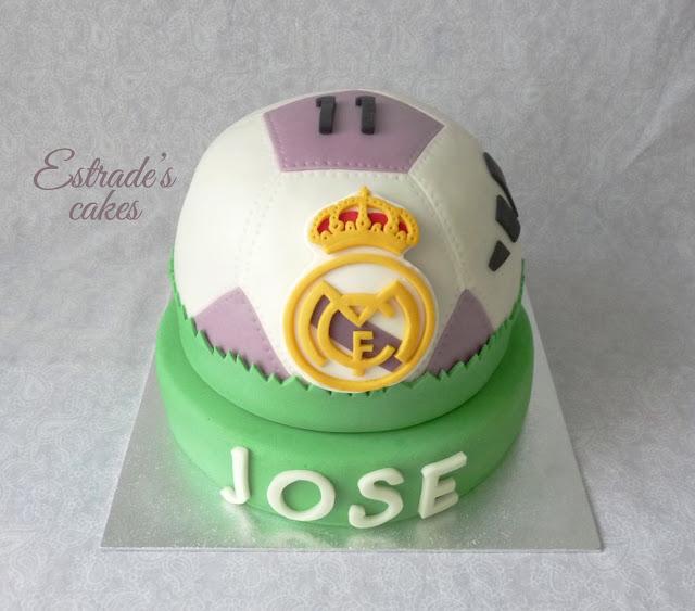 tarta balón del Real Madrid 1