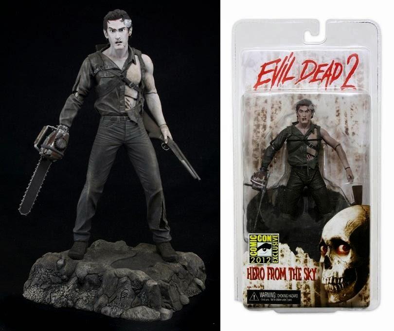 Figura Ash con motosierra Evil Dead 2