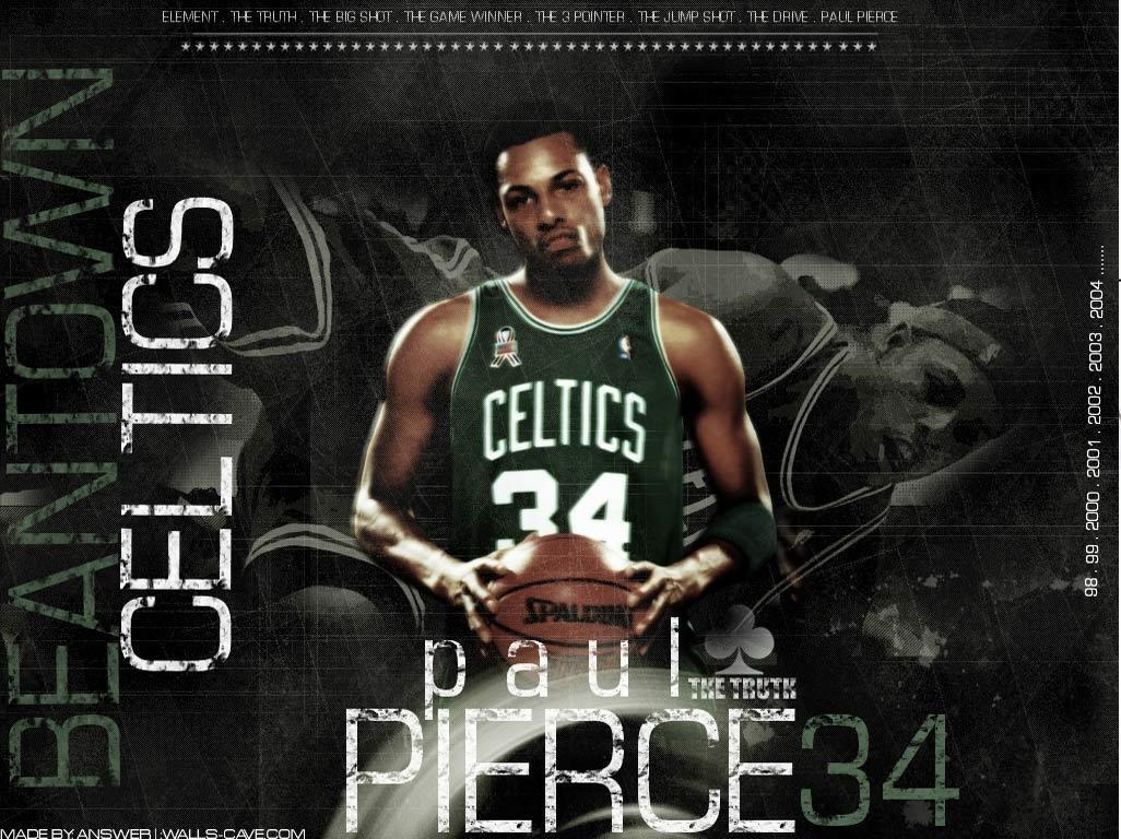Paul Pierce Boston Celtic Player Wallpapers