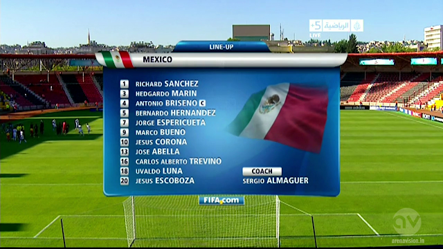 U20 World Cup - Mexico vs Greece