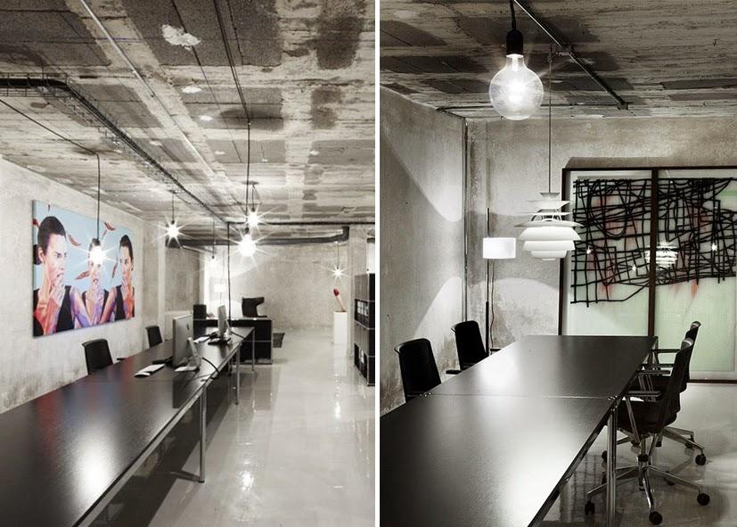 Heteruf designs oficina concepto mezcla de estilos dirty for Estilos de oficinas