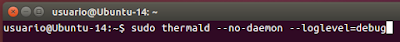 sudo thermald --no-daemon --loglevel=debug