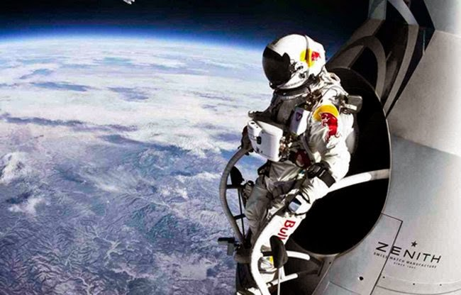 18 Photos That Will Make You Reconsider Your Existence! - And from 127,852 feet (with Felix Baumgartner jumping out a capsule in the stratosphere), take a good look…