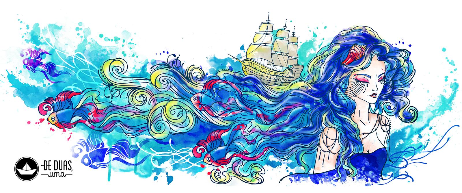 De duas, uma | Design, Ilustrações e Tattoos