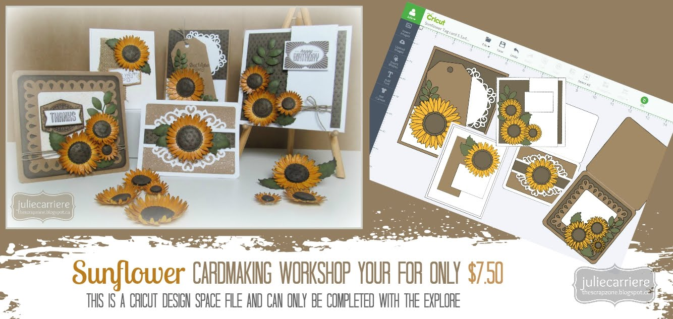 Sunflower Cardmaking Workshop EXPLORE only August SOTM