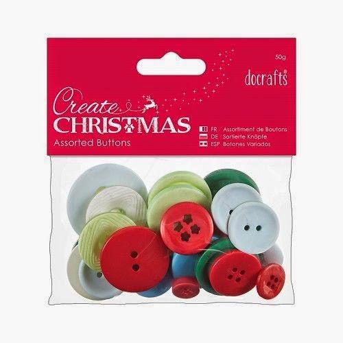 http://www.ebay.de/itm/Knopfsortiment-Knoepfe-sortiert-50Gramm-Deko-Create-Christmas-DoCrafts-PMA-354395-/201177075552?