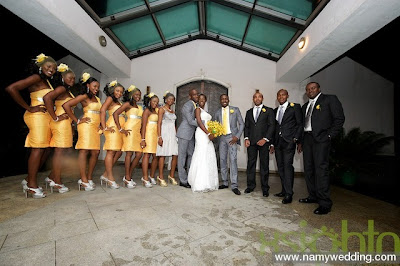 Pictures From Obiwon's Church Wedding & Reception. 9