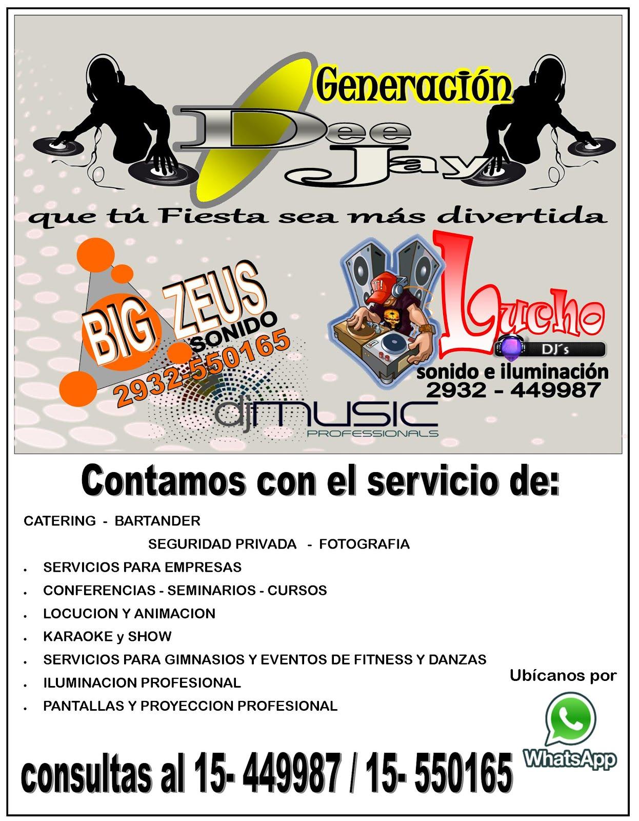 SERVICIO DE DEE JAY