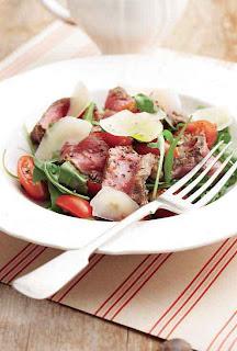 Seared Carpaccio Salad