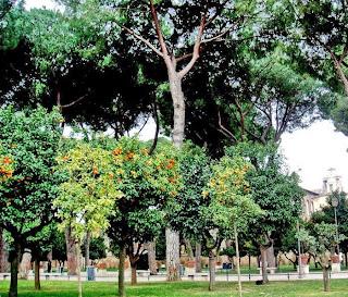 Апельсиновый сад на Авентине