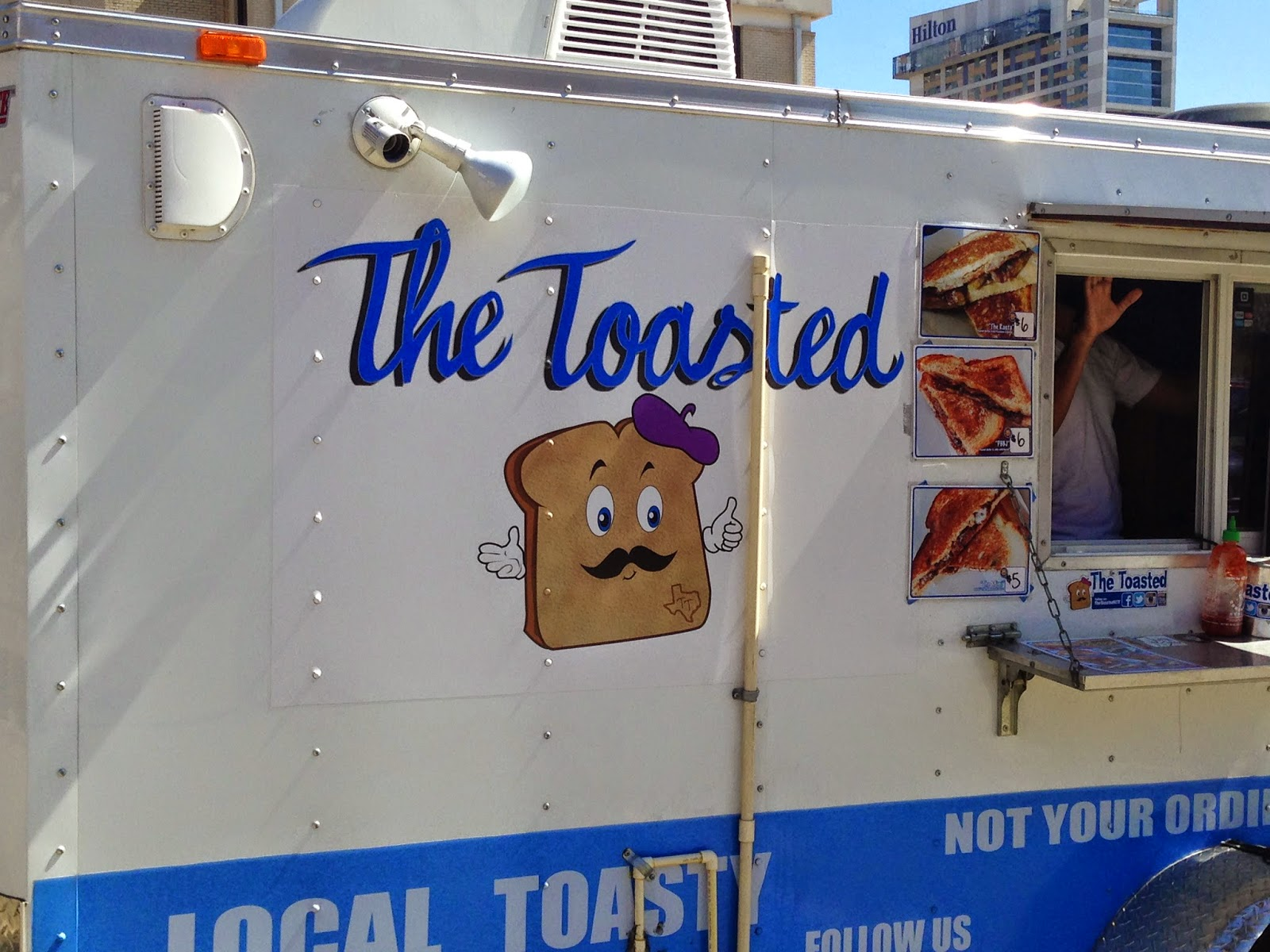 The Toasted Food Truck Houston TX
