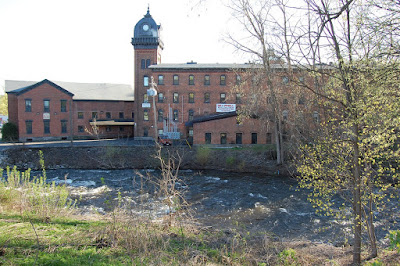 factory on Kayderosseras Creek