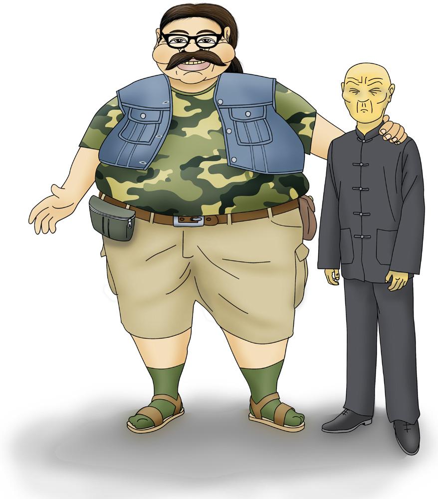 Fujimori y Chun Li