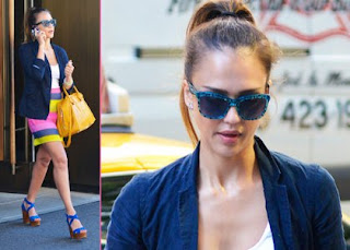 Jessica Alba: Colorful in the Big Apple » Gossip | Jessica Alba
