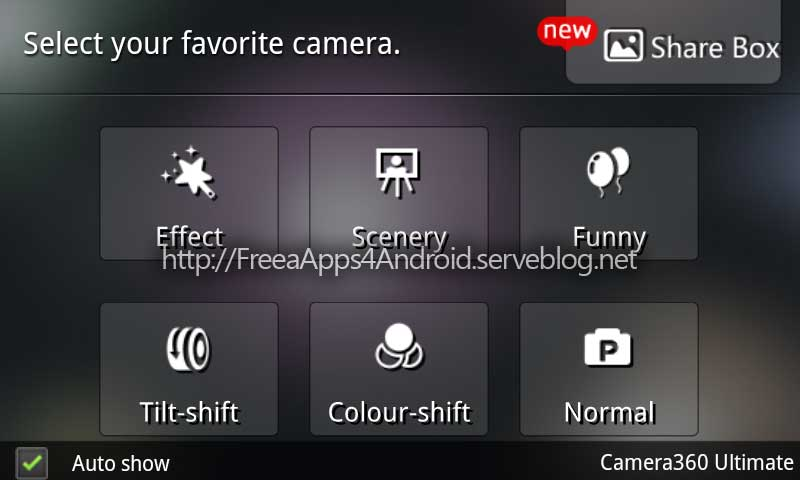Free Apps 4 Android: Camera360 Ultimate v2.3.0