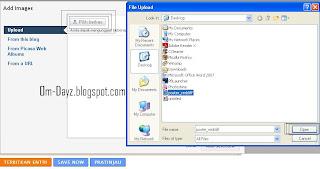 Hosting Semua Gambar Anda di Blogspot