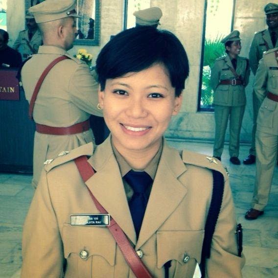 Aparajita Rai 1st female IPS Officer from Sikkim