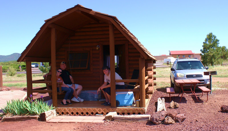 Our kozy cabin as KOA calls them. title=