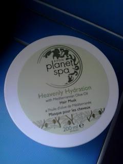 Avon Planet Spa śródziemnomorska odżywcza maseczka do włosów z oliwką