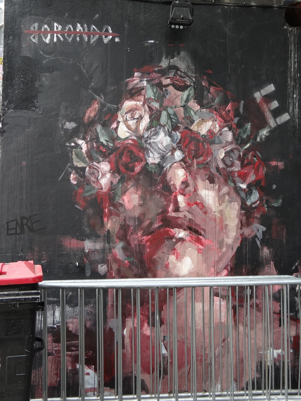 Borondo - New Inn Yard