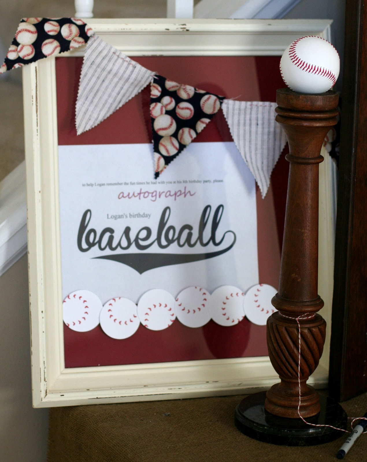 Baseball Birthday Party Activities