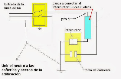 interruptor con toma usando solo dos cables