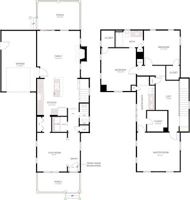 Awesome home design with plans flex room floor plans for Flexible house plans