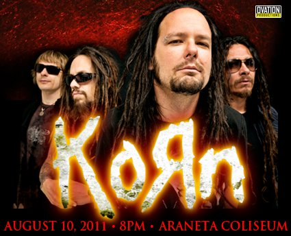 Korn Live in Manila 2011 - Details & Ticket Prices, KORN Live in Manila Date Event: August 10, 2011 8:00 pm, KORN Live in Manila Ticket Prices, picture, image, photo, Pic, wallpaper, poster