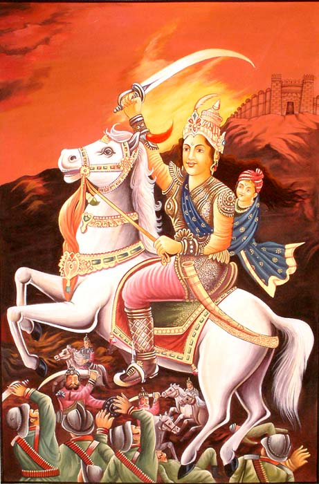 rani laxmi bai Lakshmi bai, the rani (queen) of jhansi was one of the leading figures in the first war for indian independence and a radiant symbol of resistance to british rule in india.