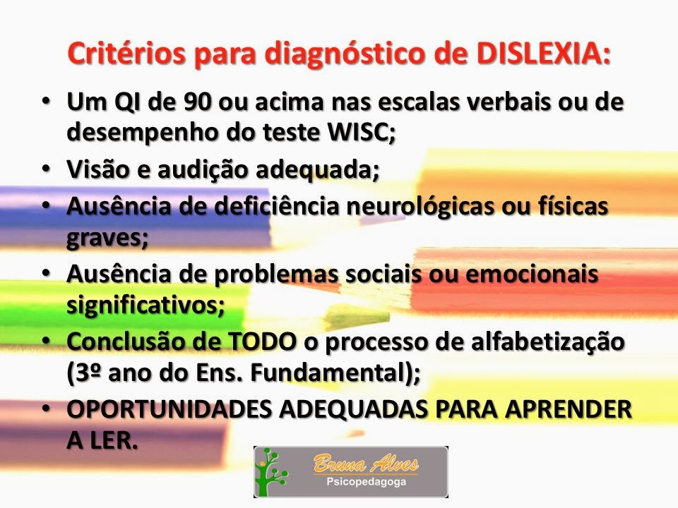 Dislexia?