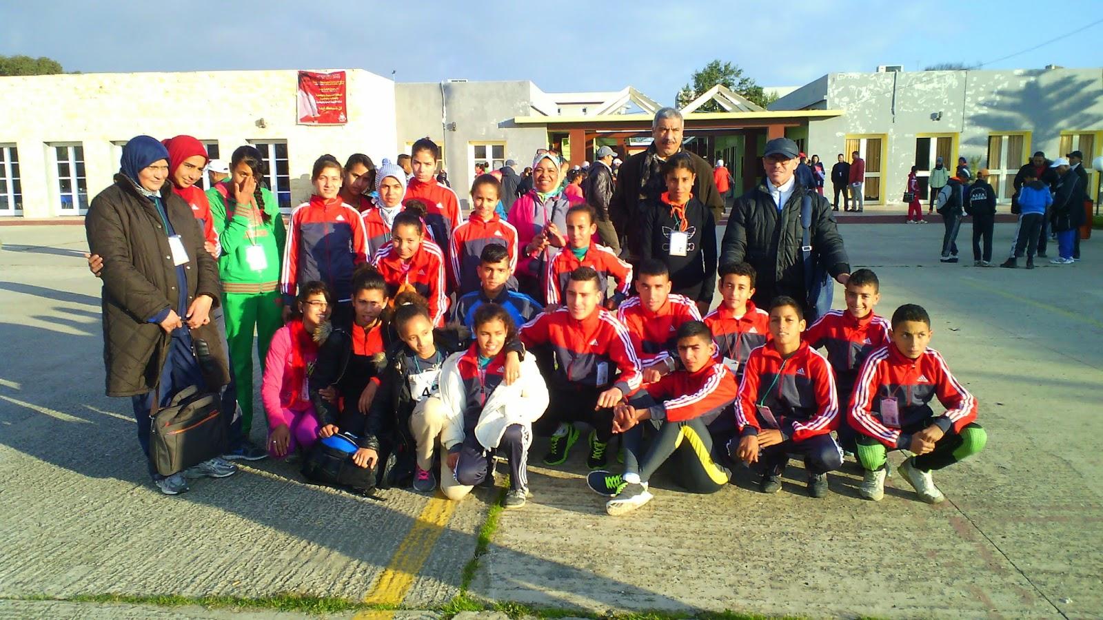 تاونات:  نيابة تاونات تشارك في البطولة الوطنية للعدو الريفي المدرسي والعوادي يضيع التأهل لبطولة العالمية بخطوة
