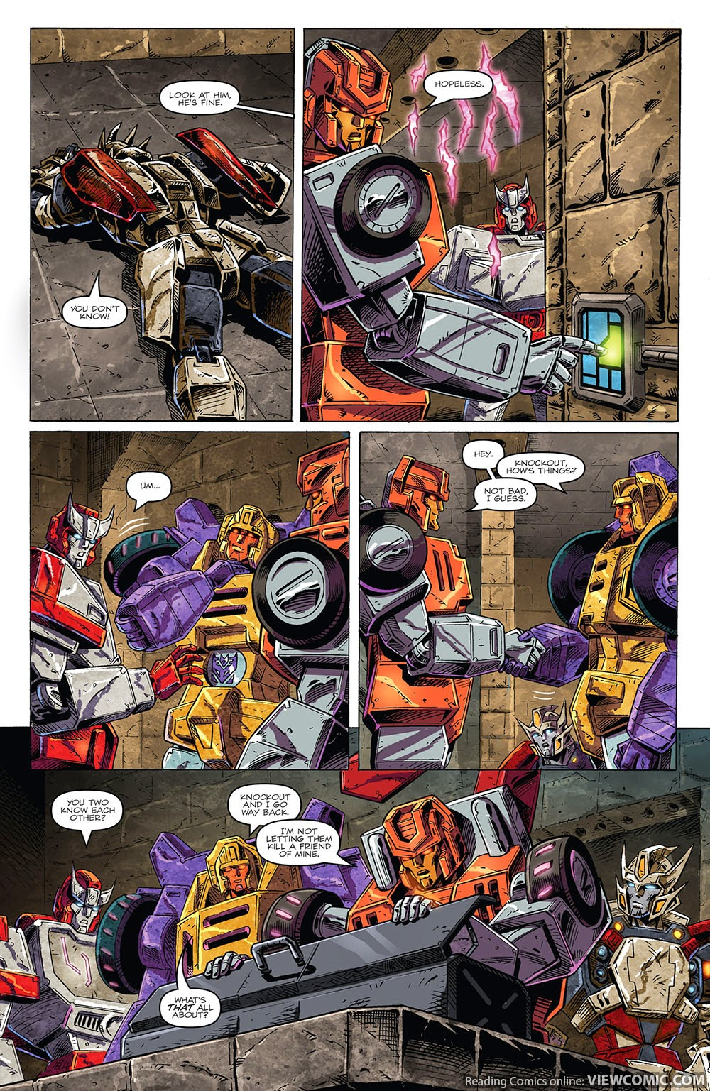 the transformers drift empire of stone 02 2014 viewcomic