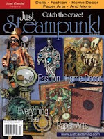 My work was published in Just Steampunk