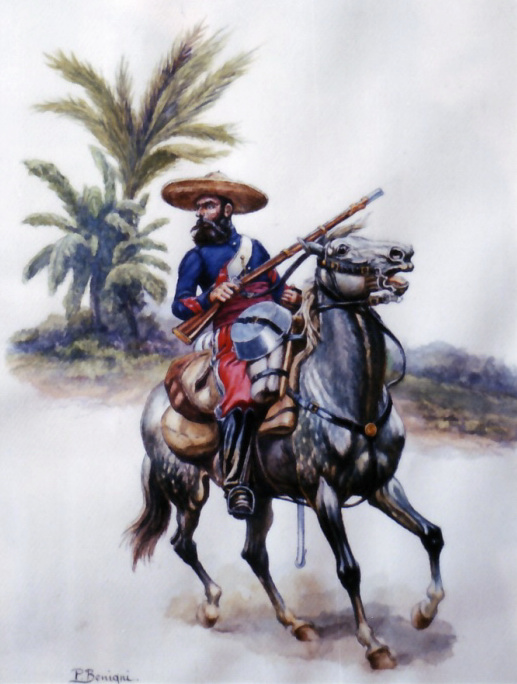 French Cavalry in Mexico