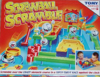 Screwball Scramble box.