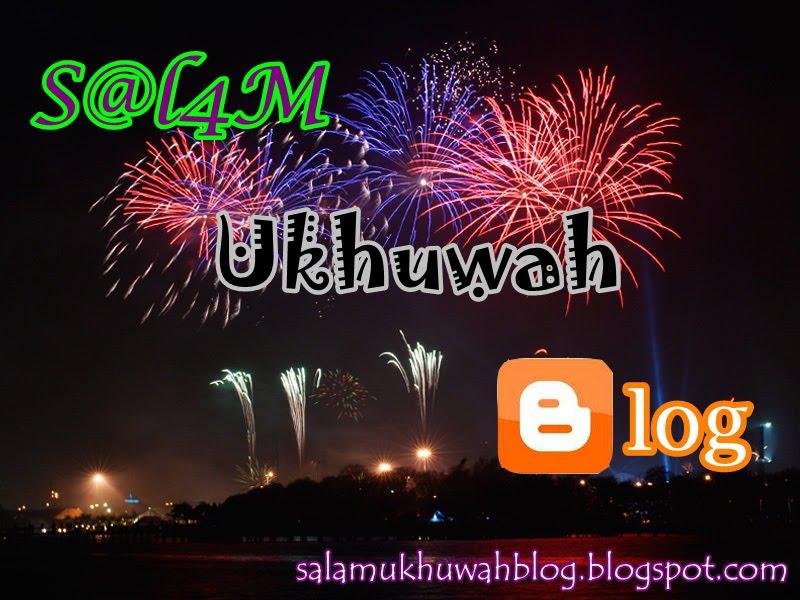 Salam Ukhuwah Blog
