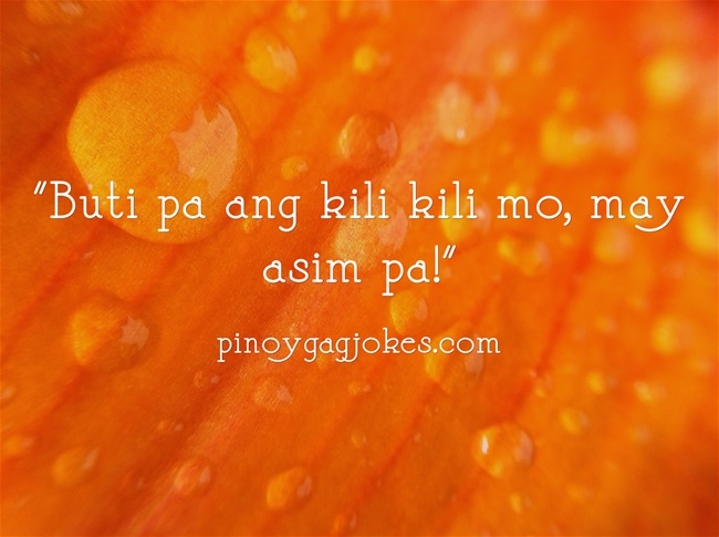 pinoy funny banat love qoutes about  life pick up lines