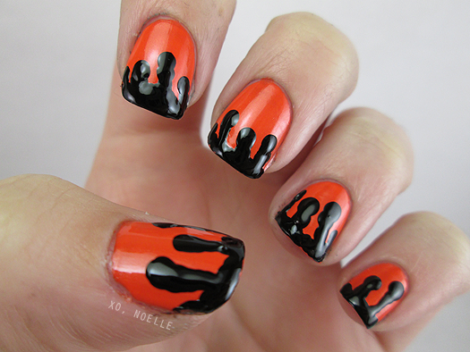 Xo noelle ct beauty and lifestyle blogger 8 spooky nights i had so much fun participating in this challenge i love pushing myself to try out new nail art techniques i hope you all enjoyed them and will check me prinsesfo Choice Image