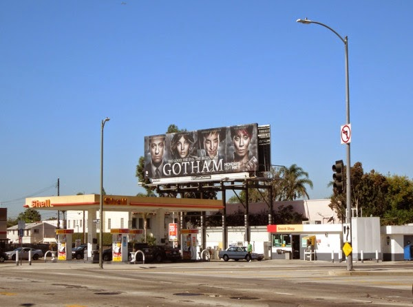Gotham season 1 billboard