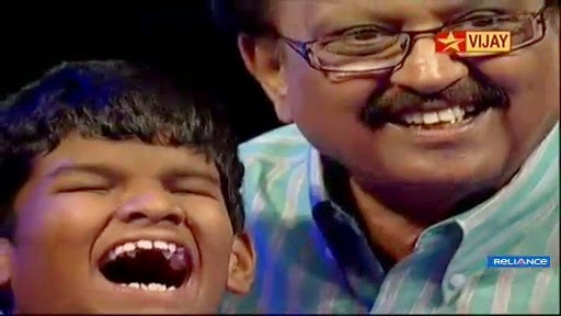Senthil Nathan Blind Boy Awesome Performance with S P Balasubramaniam in Super Singer Junior 4
