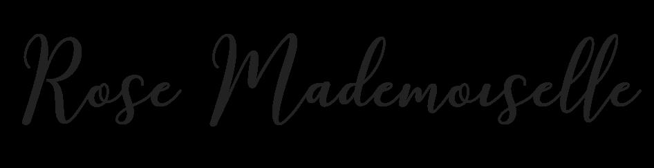 Rose Mademoiselle - Blog beauté : revues et tutoriels de beauté , mais pas que...