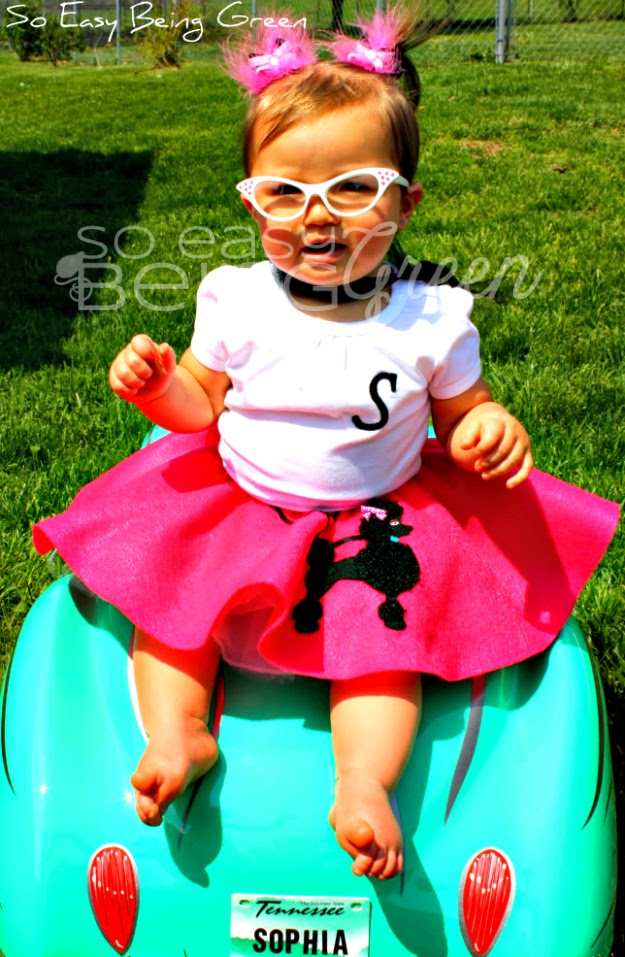 Toddler Poodle Skirt by So Easy Being Green