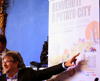 millefoglie di patate e patata in bo 2013. evviva la patata, sopratutto se dop!