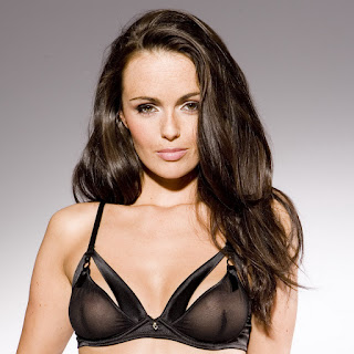 Jennifer Metcalfe see through lingerie photoshoot